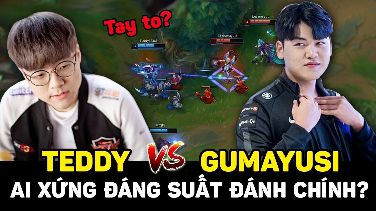 T1 Gumayusi so trình đàn anh Teddy, tay cực to cạnh tranh gay gắt suất đánh chính LCK 2021