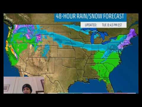 """Winter Storm """"Niko"""" to Hit Northeast Mid-Week"""