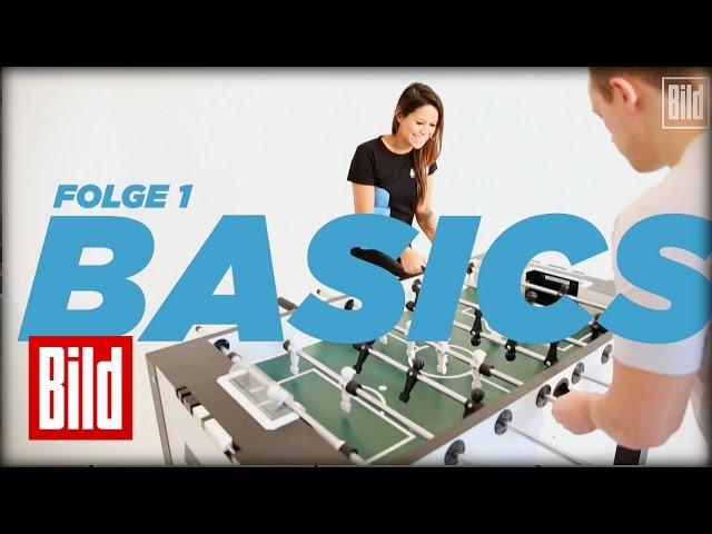 Tischkicker-Tutorial - Basics beim Tischfussball (Folge 1/5)