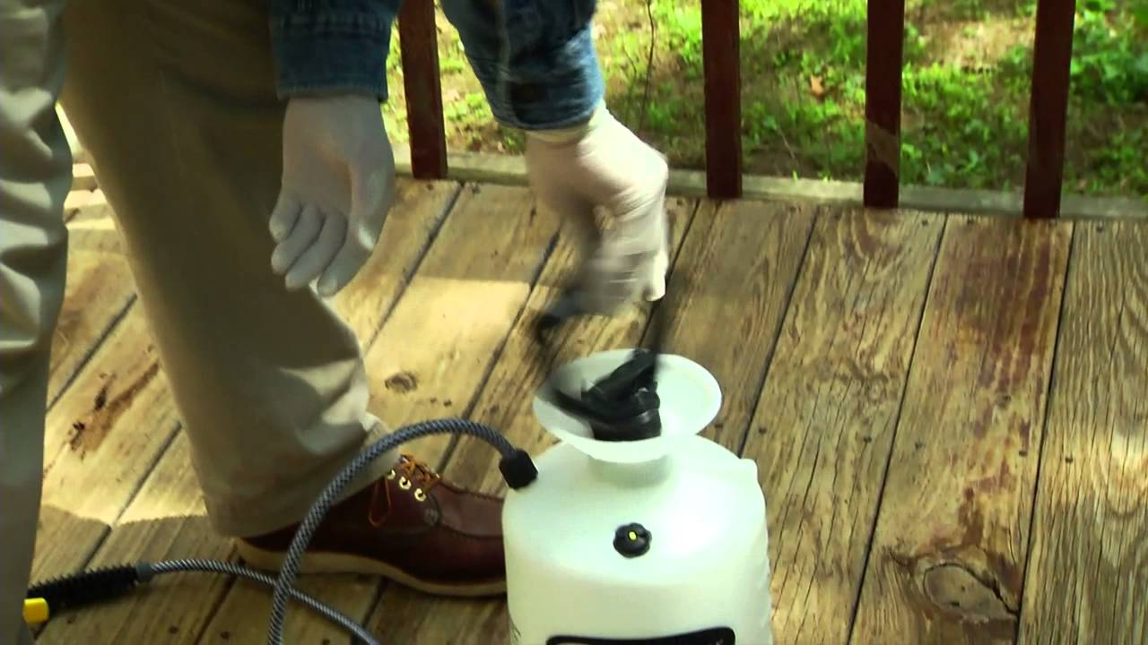 Clean stain and seal a wooden deck in a day youtube baanklon Gallery