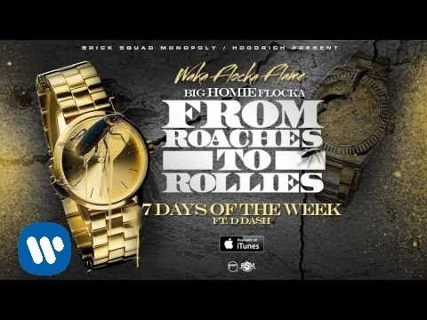 Waka Flocka - 7 Days Of The Week ft D Dash [Official Audio] Thumbnail image