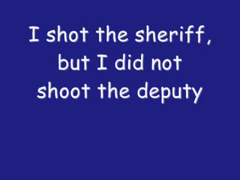 """I Shot The Sheriff"" - Eric Clapton"
