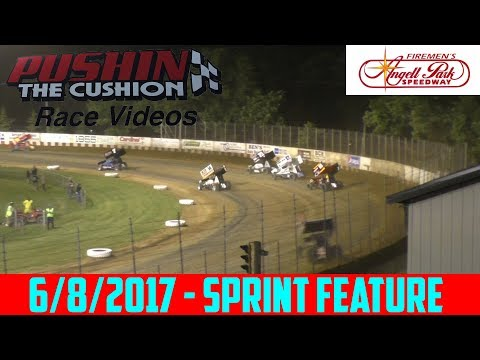 Angell Park Speedway - 6/8/2017 - IRA Sprint - Feature