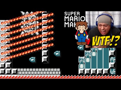 I THROW IN THE F#%KING TOWEL!! [SUPER MARIO MAKER] [#16]
