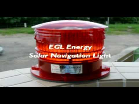 Solar Navigation Light