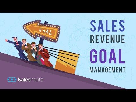 Sales Revenue  - Goal Management in Salesmate CRM