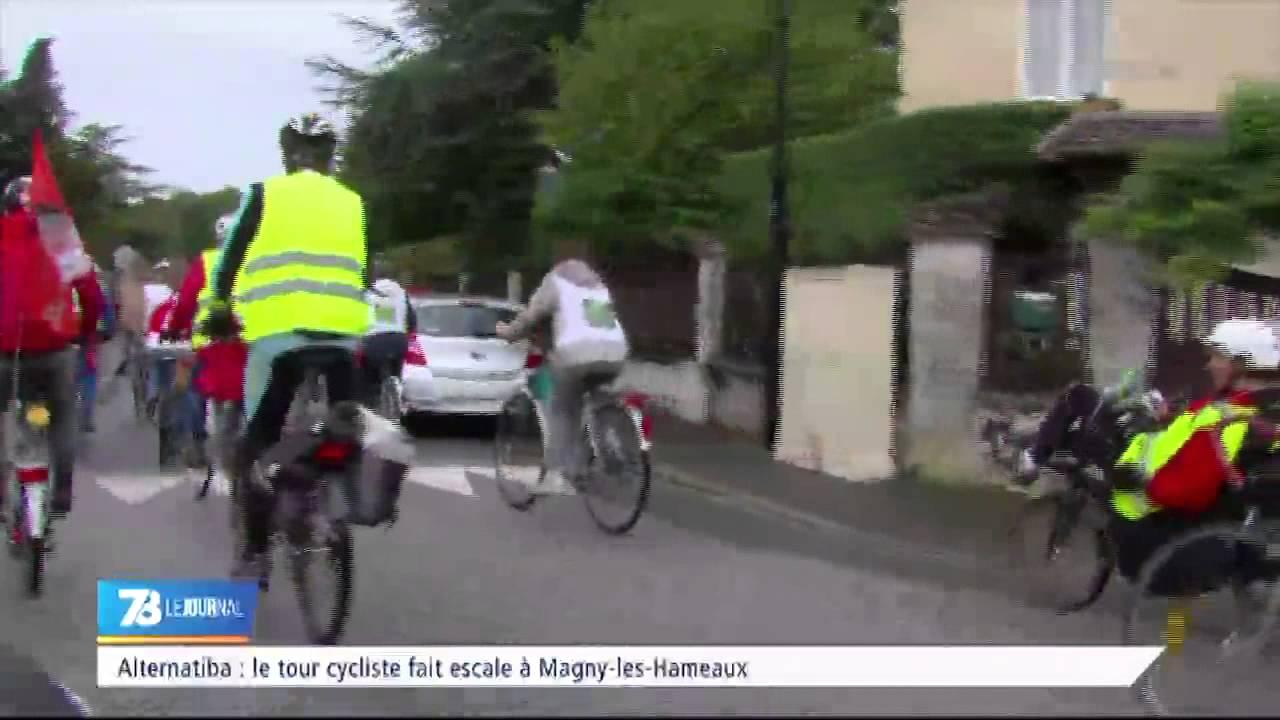 Alternatiba : le tour cycliste fait escale dans les Yvelines