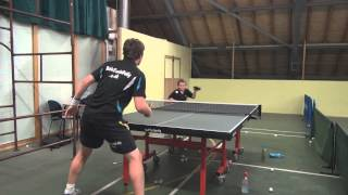 Louis Price Table Tennis Training 2014
