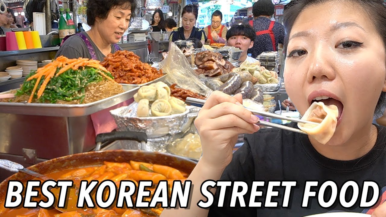 Top 10 Korean Street Foods To Try Gwangjang Market Street Food