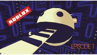 ESCAPE PACMAN!!!!!!!!| Roblox| Ep.1
