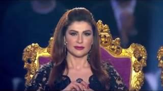 برنامج الملكة  - الفنان هاني شاكر يغني وانت ماشي في مصر سلم على مسرح القصر الملكي في الحلقة الختامية