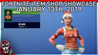NOG OPS BACK ALREADY?!?! January 13th New Skins || Daily Fortnite Item Shop