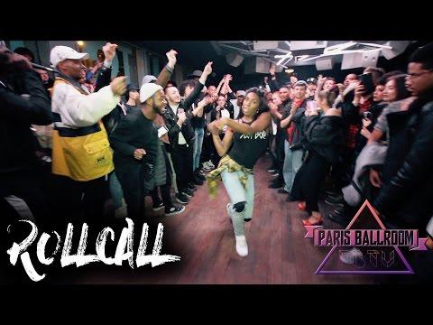 """ROLLCALL to LSS""at The Rumble Ball,  by Jack Mizrahi & Lasseindra Ninja."