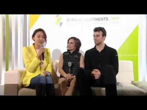 2015 4CC - Meagan Duhamel / Eric Radford interview