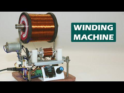 DIY Arduino Based Winding Machine