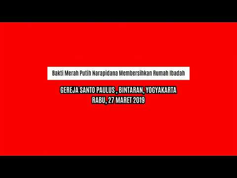 Bakti Merah Putih Narapidana Lapas Perempuan Yogyakarta