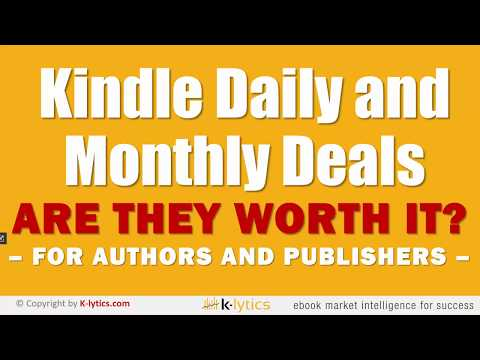 Kindle Deals - Are They Worth It? - YouTube