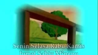 Lagu anak anak ~ Nama nama hari