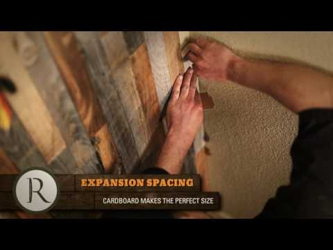 How To Install Wood Tiles