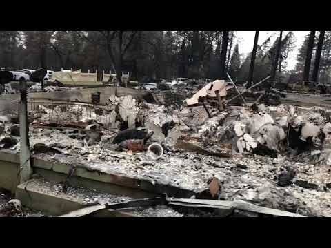 DEBRIS FLOW threat to hinder Camp Fire recovery efforts in Paradise CA
