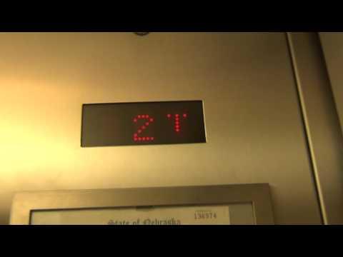 Montgeomery Kone Highdrulic Elevator At Omaha Park Five In Omaha Nebraska