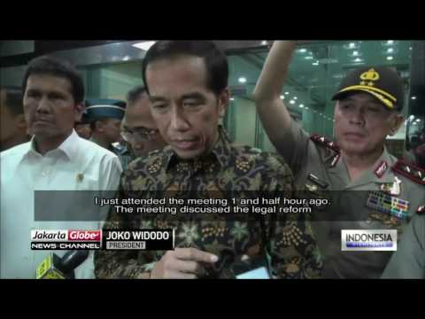 Jokowi Decalres War Against Illegal Levy Practices