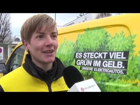 Die Post bringt allen was,  jetzt mit Elektroautos HD Salzburg AG TV
