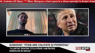 Djokovic, critici pentru Dan Petrescu: