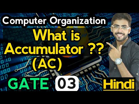 Accumulator in Computer organization and architecture | Types of Organizations | well academy