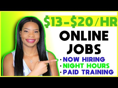 🏡 Flexible Work-From-Home Jobs! (Night Hours + Entry Level) | APPLY TODAY!