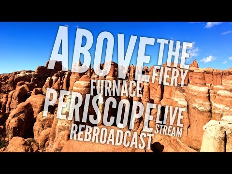 Above the Fiery Furnace, Arches NP, Moab,...