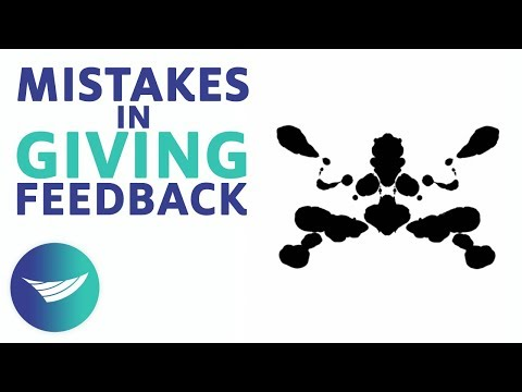 10 Common Mistakes in Giving Feedback | CCL