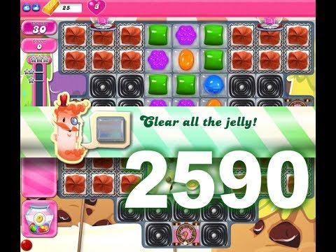 Candy Crush Saga Level 2590 (No boosters)