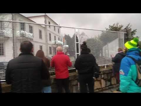 Cacerolada de los hosteleros de Vilagarcía a Feijóo