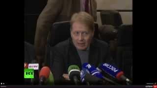 Пресс-конференция по предварительным итогам выборов в ДНР