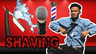 CUT MY FACE SHAVING ☹️🤕 (A Day With Zayy)