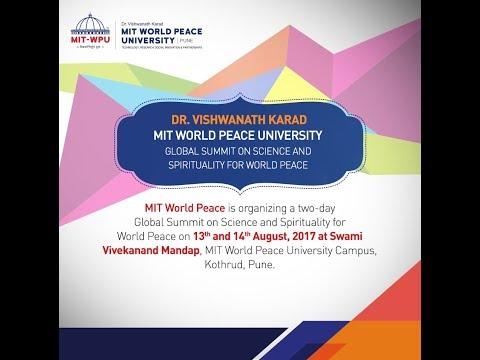 MIT- WPU Global Summit on Science & Spirituality