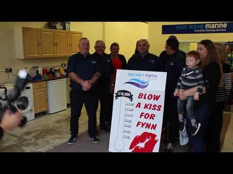New Wave Marine launch 'Kiss For Fynn' Fund Raiser