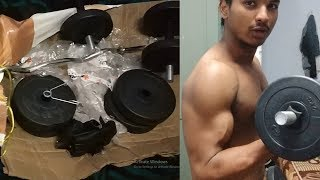 REVIEW ON HOME GYM KIT (GOOD/BAD)//INDIA