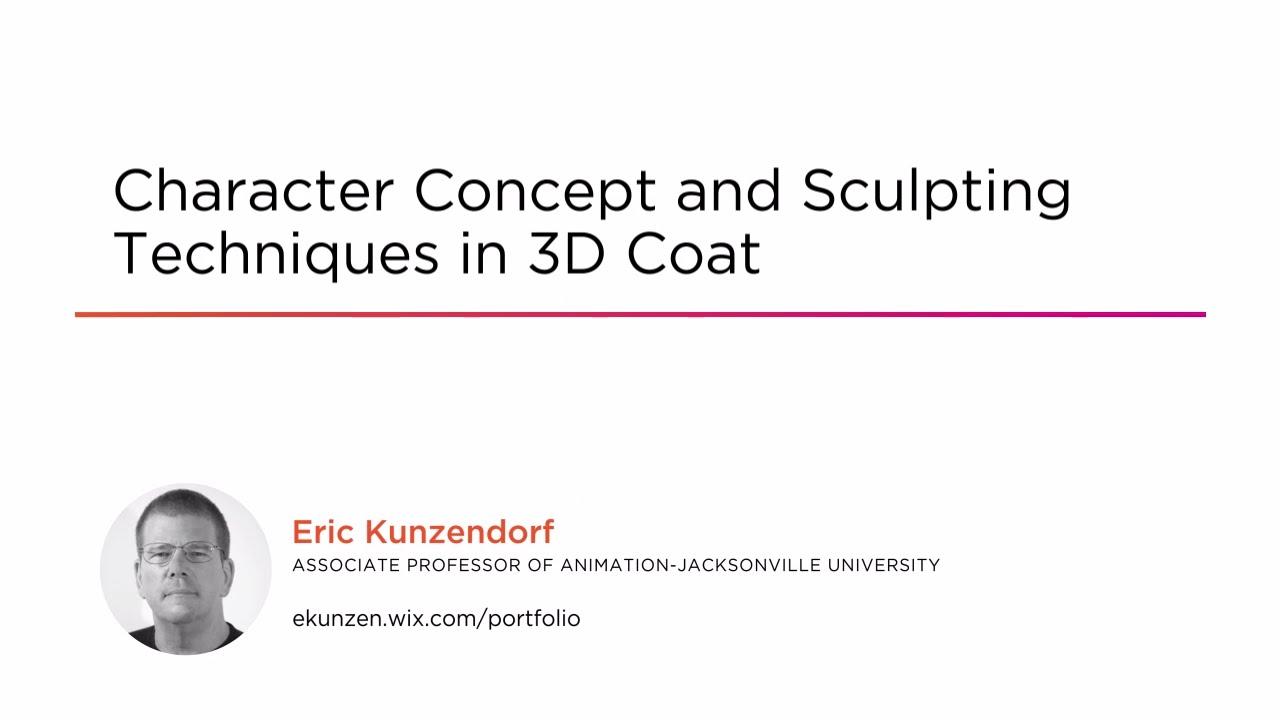 3D Character Concept and Sculpting Techniques | Pluralsight
