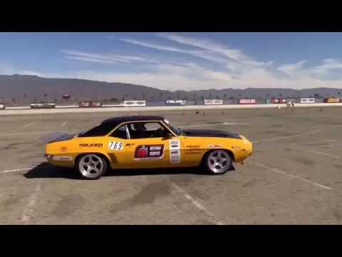Autocrossing at Auto Club Speedway