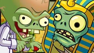 Ich kämpfe gegen den ALLER ERSTEN Boss! ☆ Plants vs. Zombies 2