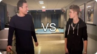 Download Jimmy Fallon vs Justin Bieber (Late Night With Jimmy Fallon) Mp3 and Videos