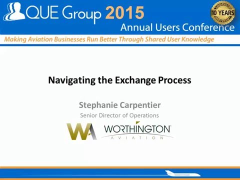 Navigating Exchange Process