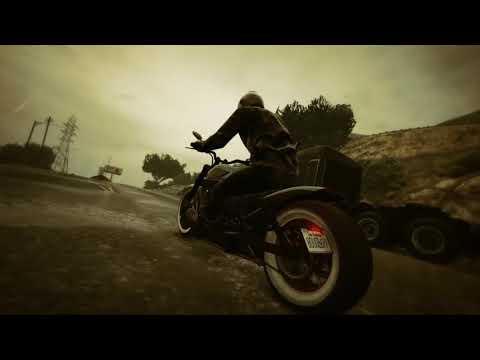 GTA V ONLINE... A Biker´s thug Life - (Rockstar editor)