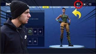 I HAVE ALL MY SKINS AND MES V-BUCKS ON FORTNITE BATTLE ROYALE! Incredible