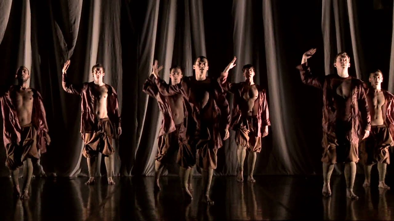 & Contemporary dance lighting example - YouTube