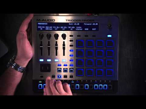 M-Audio Trigger Finger Pro Overview 1 of 3 - User Interface (UI) and Pads
