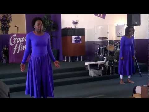 Praise Dance at Greater Faith (Marvin Sapp - So glad I made it)