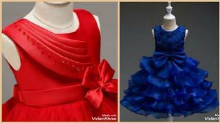 Party Wear Baby Girl Frock Designs/Kids Frock Styles 2020/Baby Frock Dress Design For Winter Season!